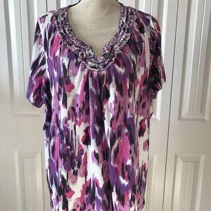 St John's Bay - shirt - Shades of Purple